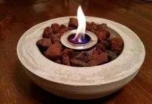 DIY Tabletop Fire Bowl To Be Best Inspire 12
