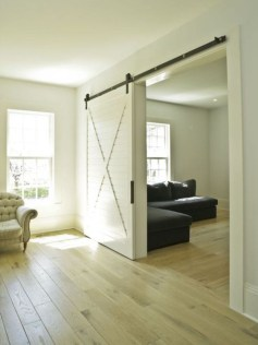 Farmhouse Door Design For Decorating Your House 39