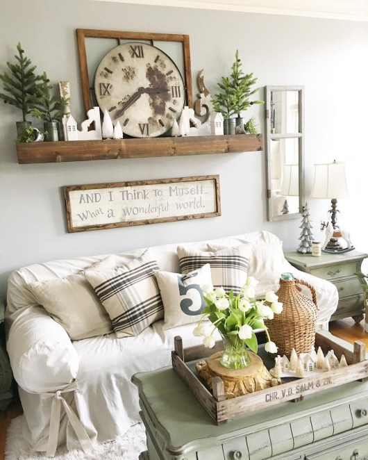 Gorgeous Farmhouse Decoration For RV Makeover 51