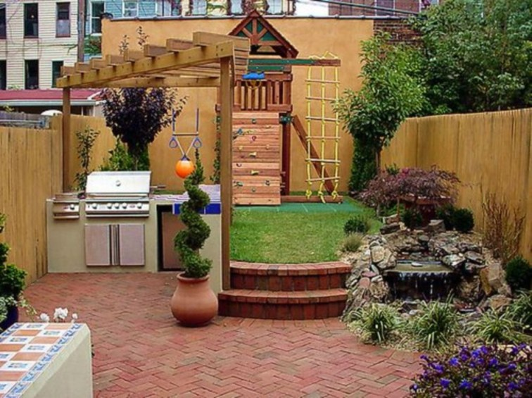 Great Ideas To Decorate Your Backyard 43