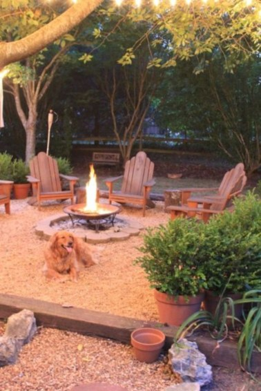 Great Ideas To Decorate Your Backyard 44