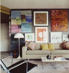 How To Create Wall Gallery In Above The Sofa 01