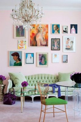How To Create Wall Gallery In Above The Sofa 06