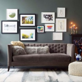 How To Create Wall Gallery In Above The Sofa 23