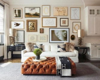 How To Create Wall Gallery In Above The Sofa 32