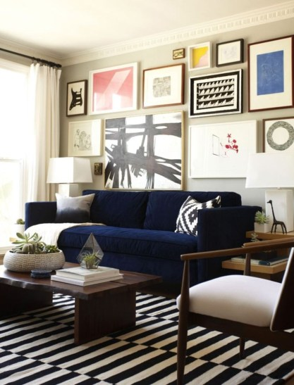 How To Create Wall Gallery In Above The Sofa 39