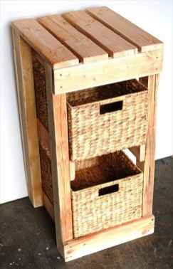 How To Make DIY Pallet For Storage Ideas 31