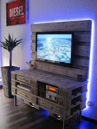 How To Make DIY Pallet For Storage Ideas 41