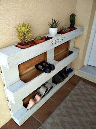 How To Make DIY Pallet For Storage Ideas 43