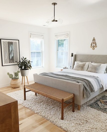 Love The Neutral Color For Master Bedroom Idea 25