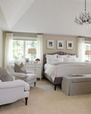 Love The Neutral Color For Master Bedroom Idea 27