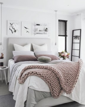Love The Neutral Color For Master Bedroom Idea 32