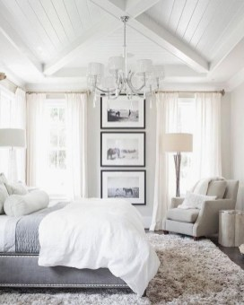 Love The Neutral Color For Master Bedroom Idea 35