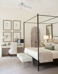 Love The Neutral Color For Master Bedroom Idea 41