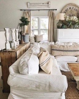 Modern Farmhouse Decoration For Your Living Room 46