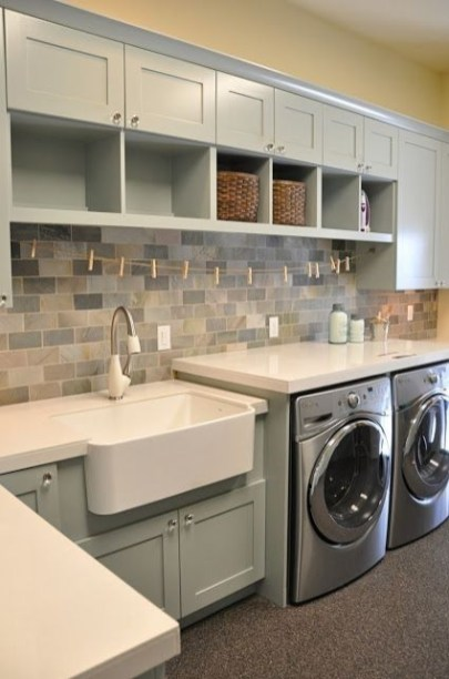 Perfect Laundry Room Decor In Your Tiny House 01