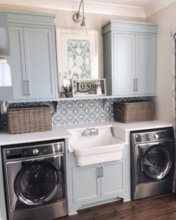 Perfect Laundry Room Decor In Your Tiny House 11