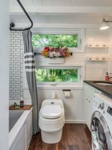 Perfect Laundry Room Decor In Your Tiny House 22