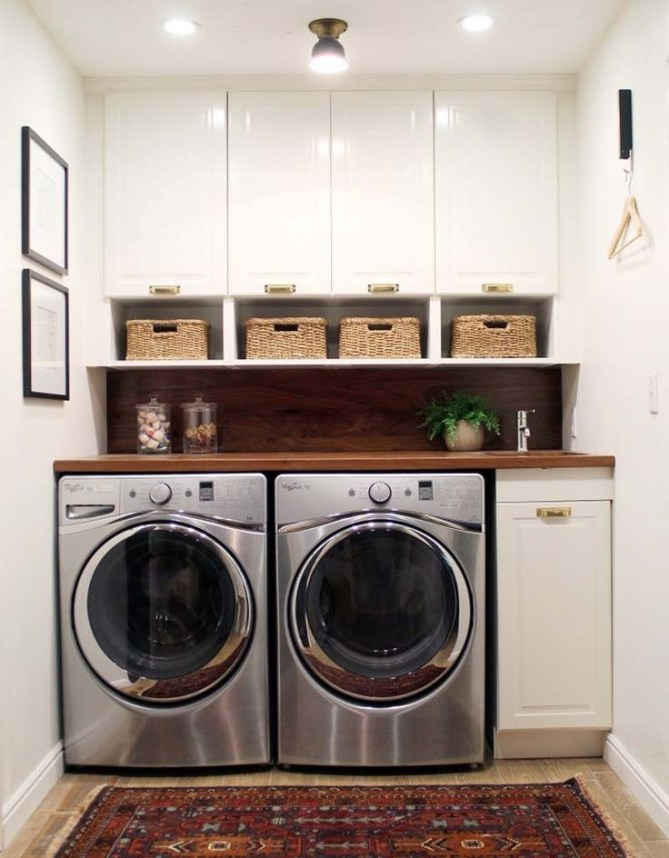 Perfect Laundry Room Decor In Your Tiny House 25