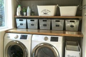 Perfect Laundry Room Decor In Your Tiny House 35