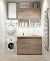 Perfect Laundry Room Decor In Your Tiny House 37