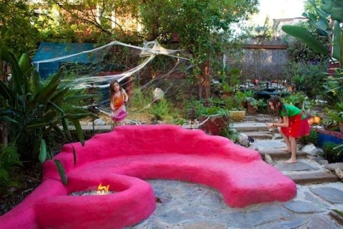 Simply Impressive Sitting Areas For Backyard Landscape 01