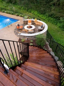 Simply Impressive Sitting Areas For Backyard Landscape 02