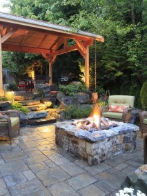 Simply Impressive Sitting Areas For Backyard Landscape 05