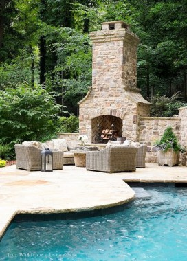 Simply Impressive Sitting Areas For Backyard Landscape 33