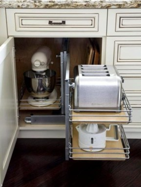 Stunning Kitchen Storage For Small Space 10