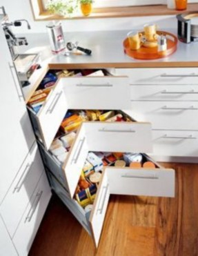 Stunning Kitchen Storage For Small Space 14