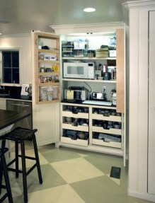 Stunning Kitchen Storage For Small Space 53
