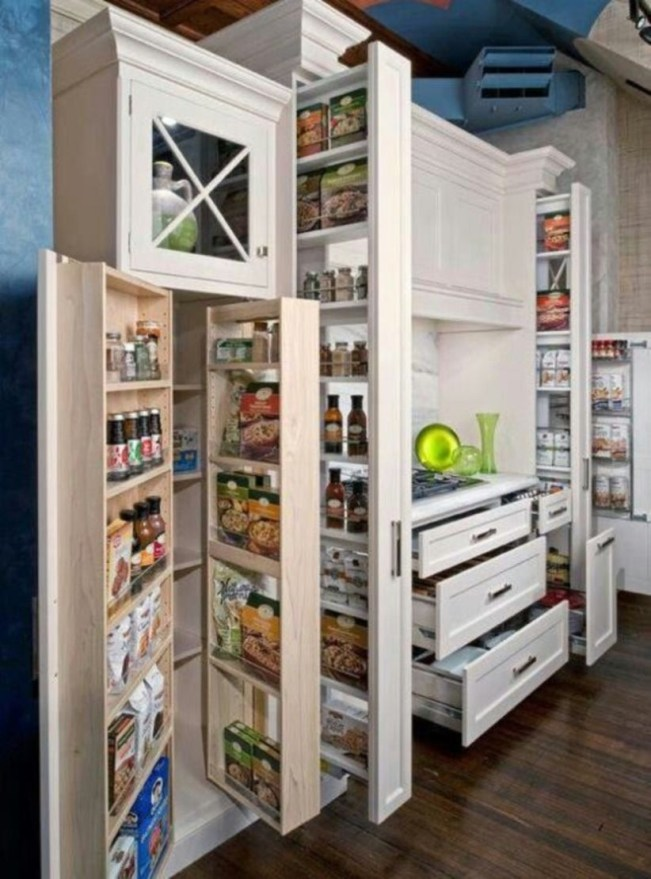 Stunning Kitchen Storage For Small Space 54