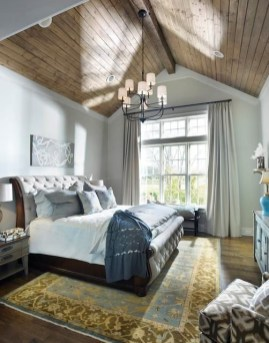 Ways To Create Cozy And Beautiful Teen Farmhouse Bedroom 48