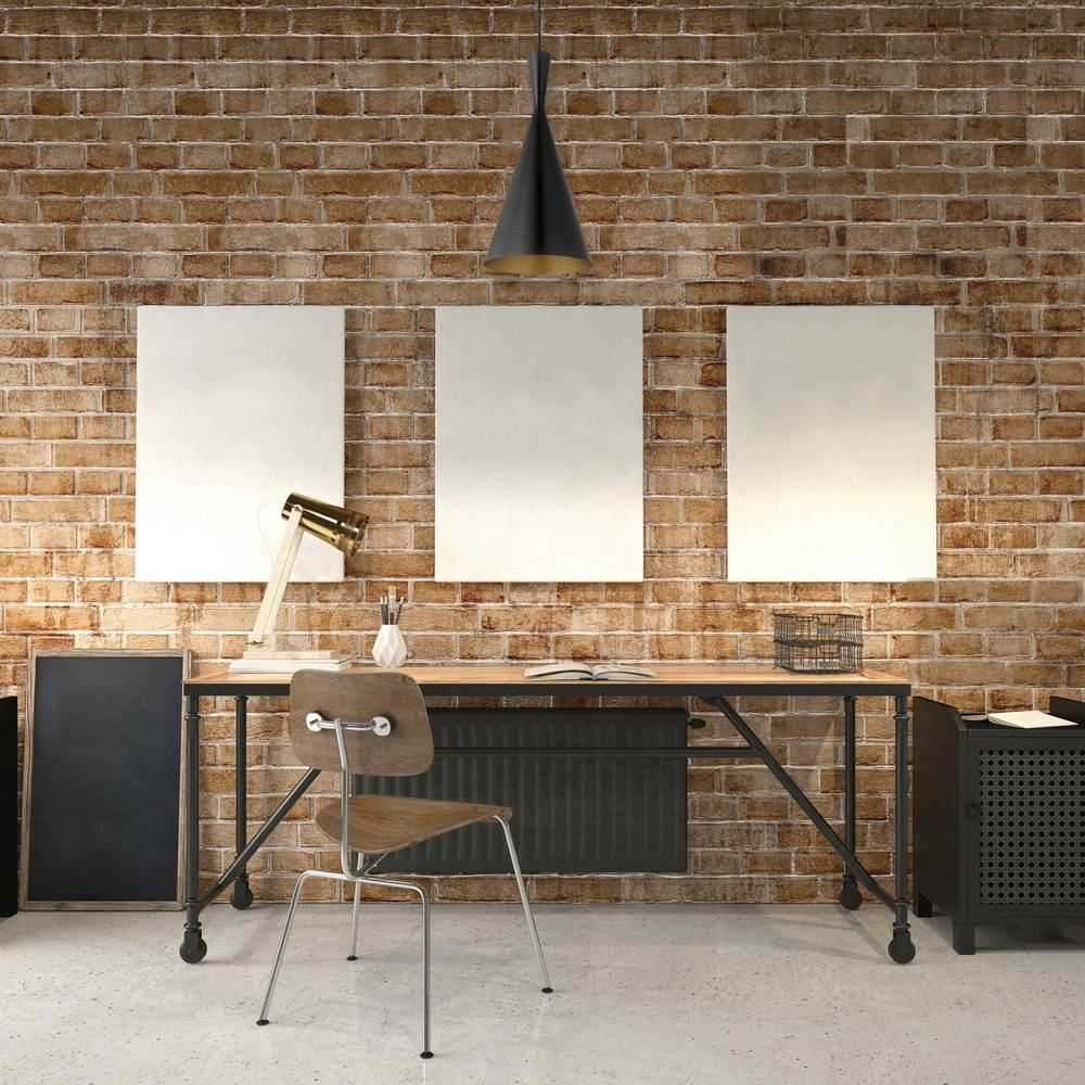 44 Modern Rustic Decorating Ideas For Your Home Office 05