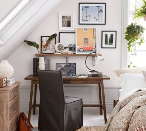 44 Modern Rustic Decorating Ideas For Your Home Office 15