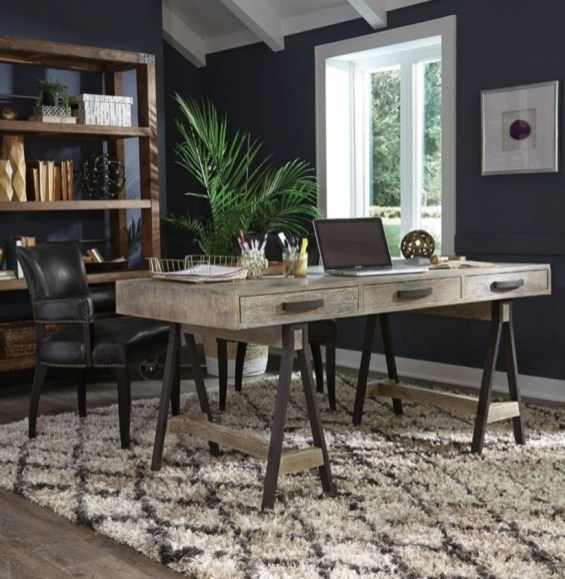 44 Modern Rustic Decorating Ideas For Your Home Office 16