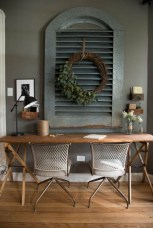 44 Modern Rustic Decorating Ideas For Your Home Office 37