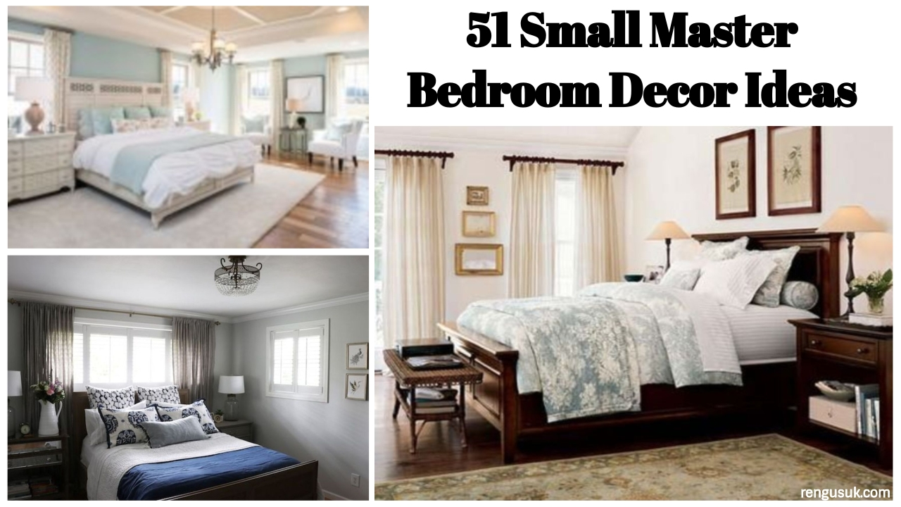 Incredible 51 Small Master Bedroom Decor Ideas Rengusuk Com Beutiful Home Inspiration Semekurdistantinfo