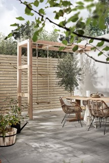 A Cozy Backyard France Terrace Ideas 22