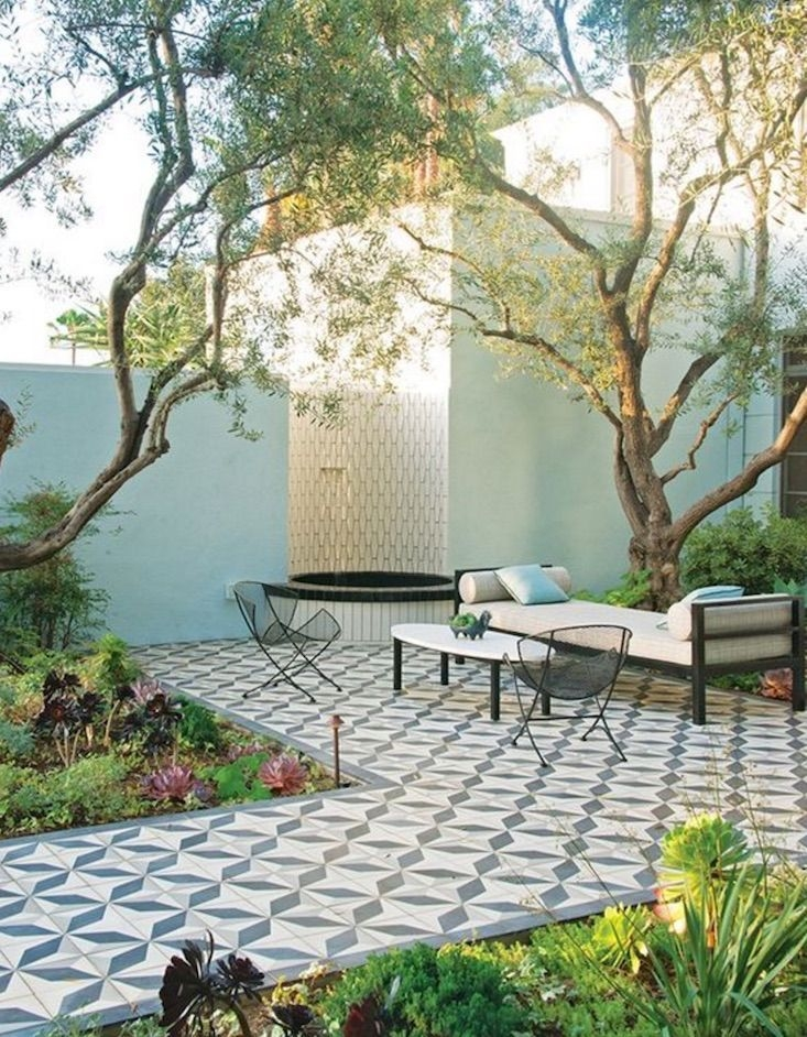 A Cozy Backyard France Terrace Ideas 38