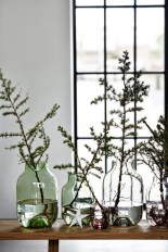 Amazing Inspiration With Bottle Christmas Vases You Can Try 01