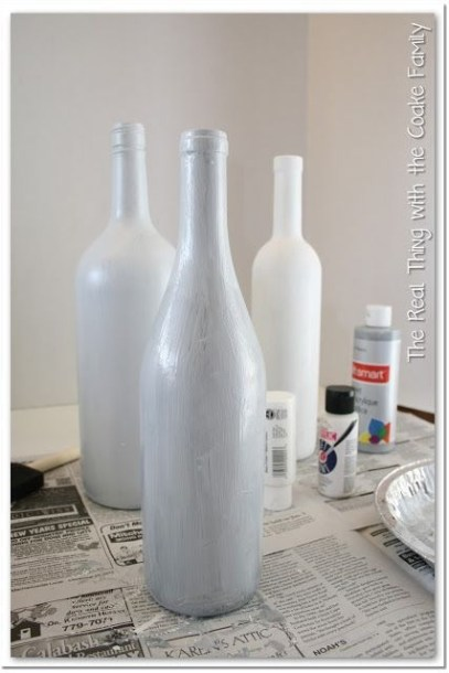 Amazing Inspiration With Bottle Christmas Vases You Can Try 10