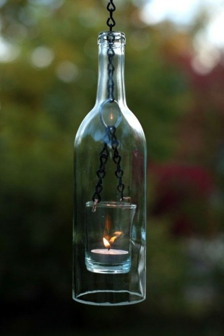 Amazing Inspiration With Bottle Christmas Vases You Can Try 16