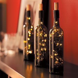 Amazing Inspiration With Bottle Christmas Vases You Can Try 37