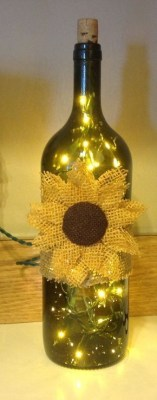 Amazing Inspiration With Bottle Christmas Vases You Can Try 40