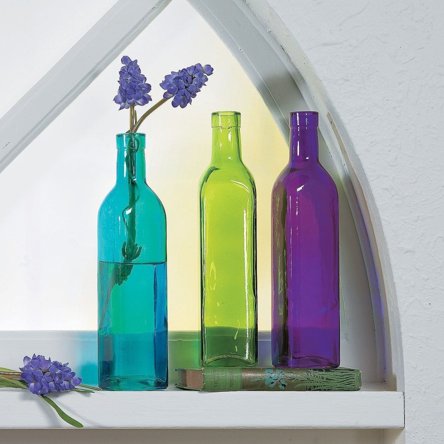 Amazing Inspiration With Bottle Christmas Vases You Can Try 44