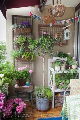 Balcony Garden Ideas For Decorate Your House 07