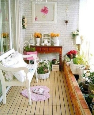 Balcony Garden Ideas For Decorate Your House 38