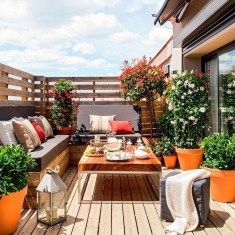 Beautiful Tropical Outdoor Decoration For Cozy Place 10